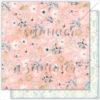 "Лист бумаги """"WAVE TENDERNESS"""" коллекции ""MARINE BLOOM"" (Summer Studio), 30,5х30,5 см"