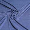 Искусственная замша двухсторонняя тонкая, темно синий