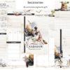 """Печатный блок для блокнота/планера """"Гарри Потер"""", от 60 листов А5, 130 г/м2. см описание"""