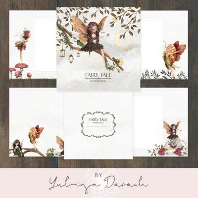 """Печатный блок для альбома """"Fairy Tale"""", 21х21 см или с длинным корешком"""