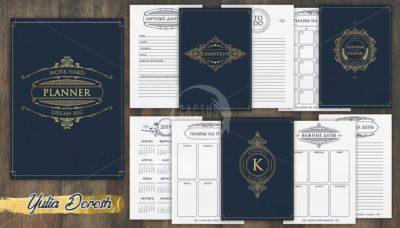 """Печатный блок для мужского блокнота/планера """"Джентльмен"""", от 60 листов А5, 130 г/м2. см описание"""
