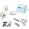 Мини-машинка для вырубки и тиснения Sizzix Sidekick Starter Kit Limited Edition, голубая