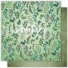 "Лист бумаги ""HERBAL"" Коллекция ""WILD FOREST"" (Summer Studio), 30,5х30,5"