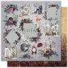"Лист бумаги ""WILF FOREST CARD'S"" Коллекция ""WILD FOREST"" (Summer Studio), 30,5х30,5"