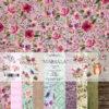 """Набор бумаги коллекции """"MARSALA""""(Summer Studio), 11 л, 20*20 см"""
