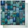 "Лист бумаги ""THE DOOR OF THE LIFE"" Коллекция ""Something blue"" (Summer Studio), 30,5х30,5"