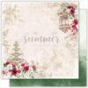 """Лист бумаги """"Serenity garden"""" коллекции """"Antique garden"""" (Summer Studio), 30,5х30,5 см"""
