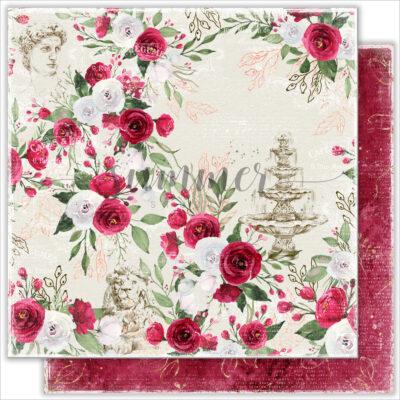 """Лист бумаги """"Antique garden"""" коллекции """"Antique garden"""" (Summer Studio), 30,5х30,5 см"""