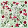 """Лист для вырезания """"Antique garden"""" коллекции """"Antique garden"""" (Summer Studio), 30,5х30,5 см"""