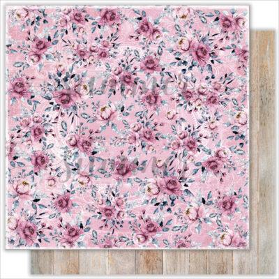 """Лист бумаги """"Beautifull garden"""" коллекции """"Marseille"""" (Summer Studio), 30,5х30,5 см"""