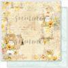 "Лист бумаги ""Autumn letters"" коллекции ""Autumn stories"" (Summer Studio), 30,5х30,5 см"
